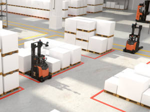 Step by step automation_SAE put-away to floor buffer